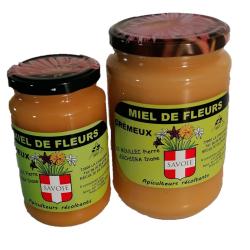 Miel de fleurs crémeux