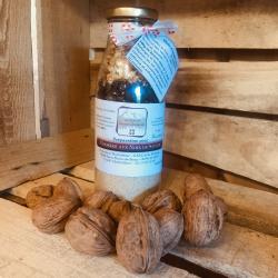 Prépartion pour cookies aux noix de Savoie en bouteille