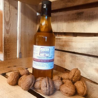 Huile de noix de savoie